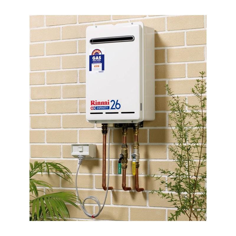 Rinnai Natural Gas Heater It
